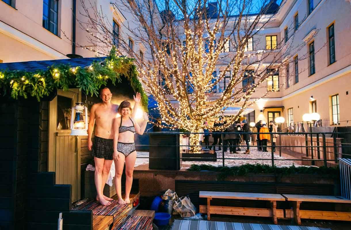 Sauna Helsingissä