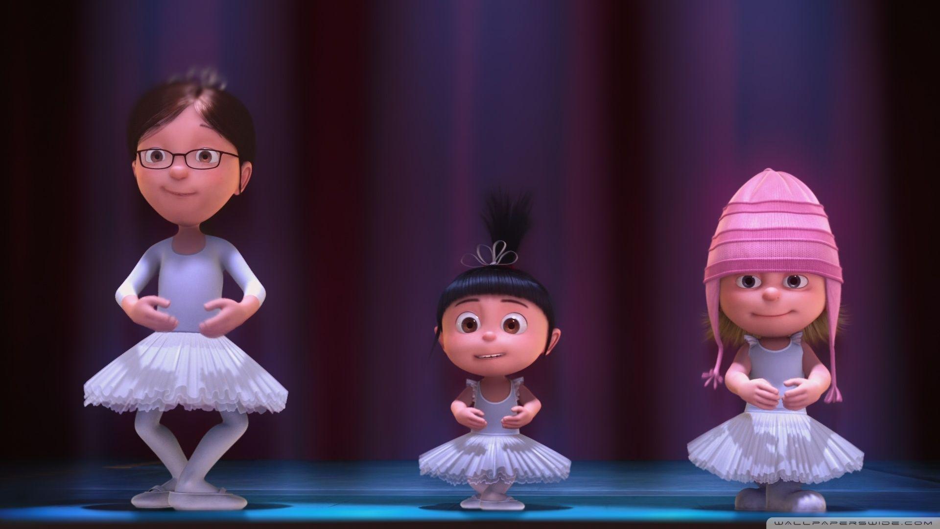 Танцующие герои мультфильмов