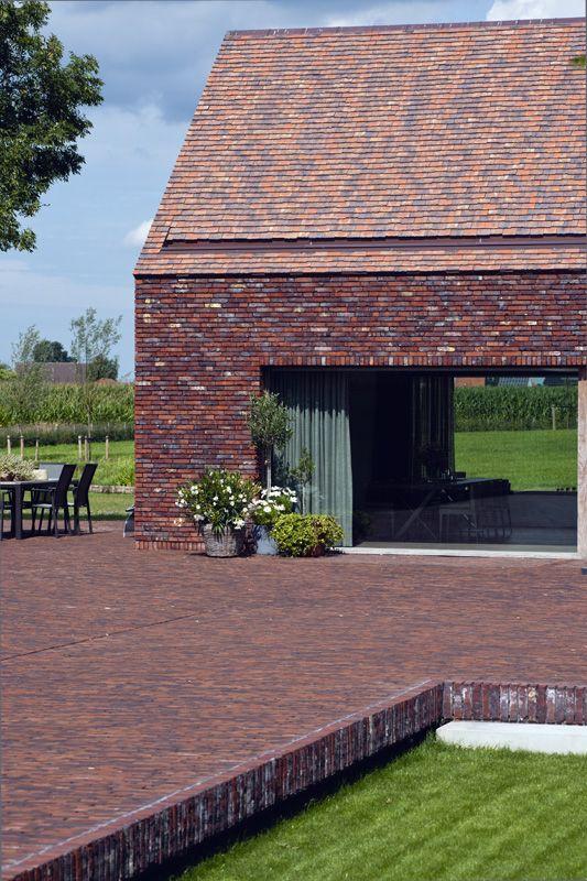 Renovatieproject hoevegebouw te roeselare projet de for Architecte renovation ferme
