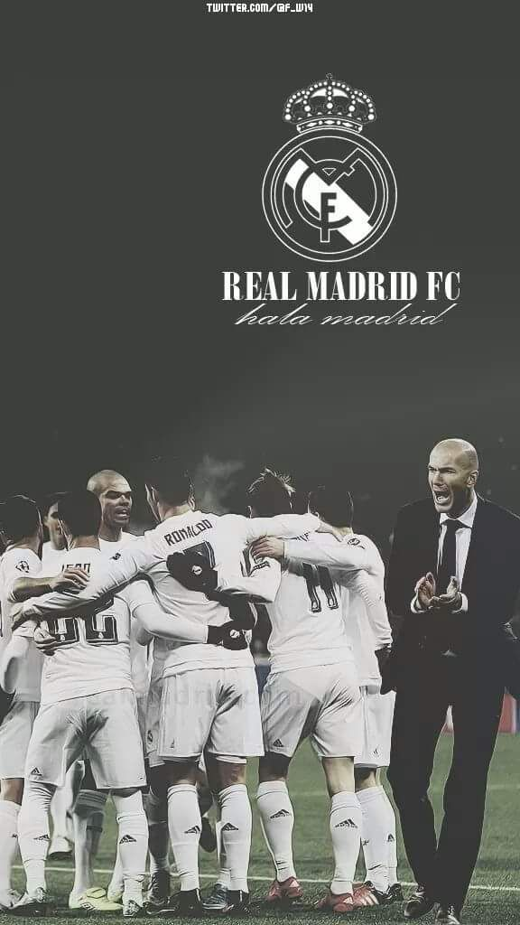 Real Madrid Wallpaper Iphone 2018