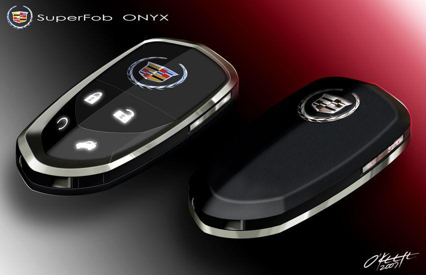 futuristic key fobs  Cadillac ONYX  HighLux Key Fob  FOB