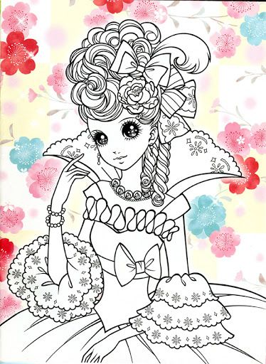 Korean Coloring Book - pink2 - Mama Mia - Álbuns da web do Picasa ...