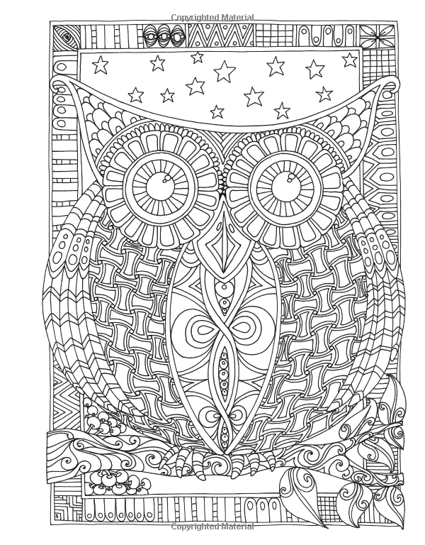 Angela Porters Zen Doodle Animal Tangles New York Times Bestselling Artists Adult Coloring Books