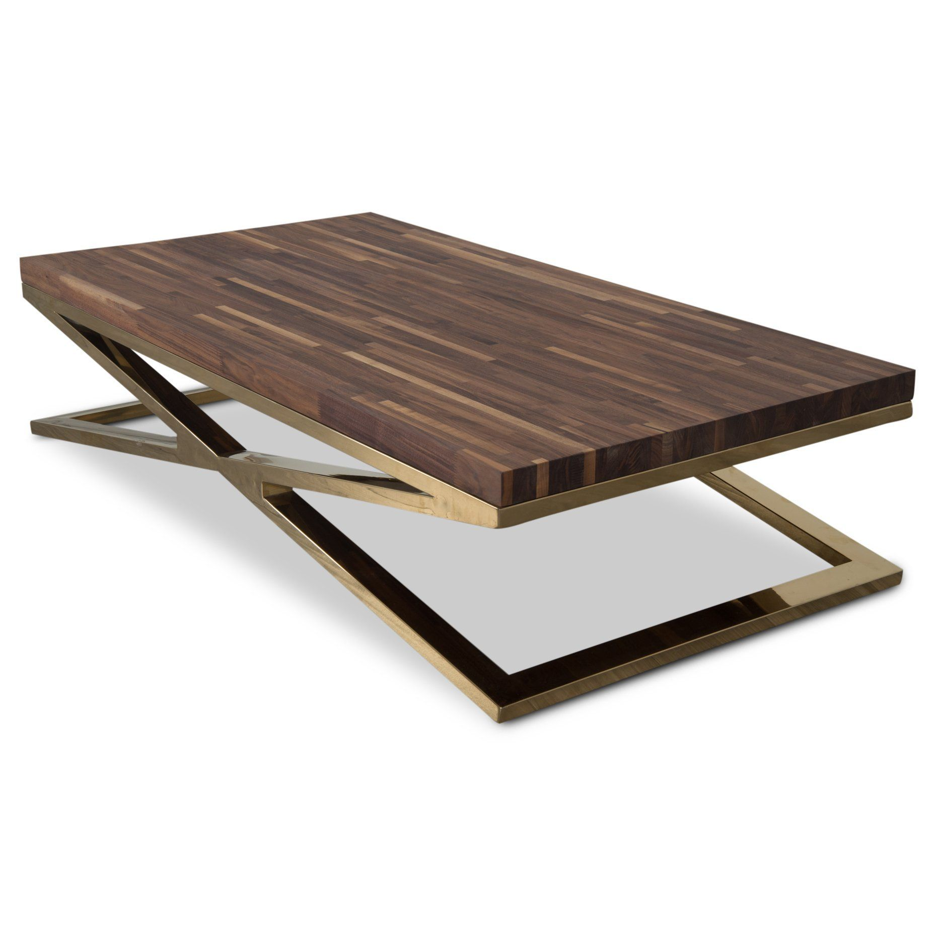 X Leg Coffee Table With Solid Walnut Top Coffee Table Legs
