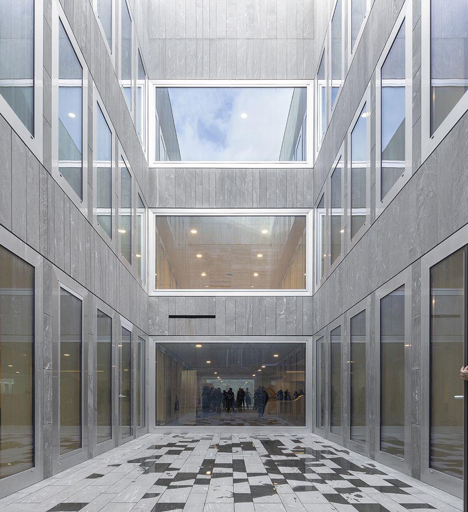 Gallery Of Chambre De Metiers Et De L Artisanat Kaan Architecten