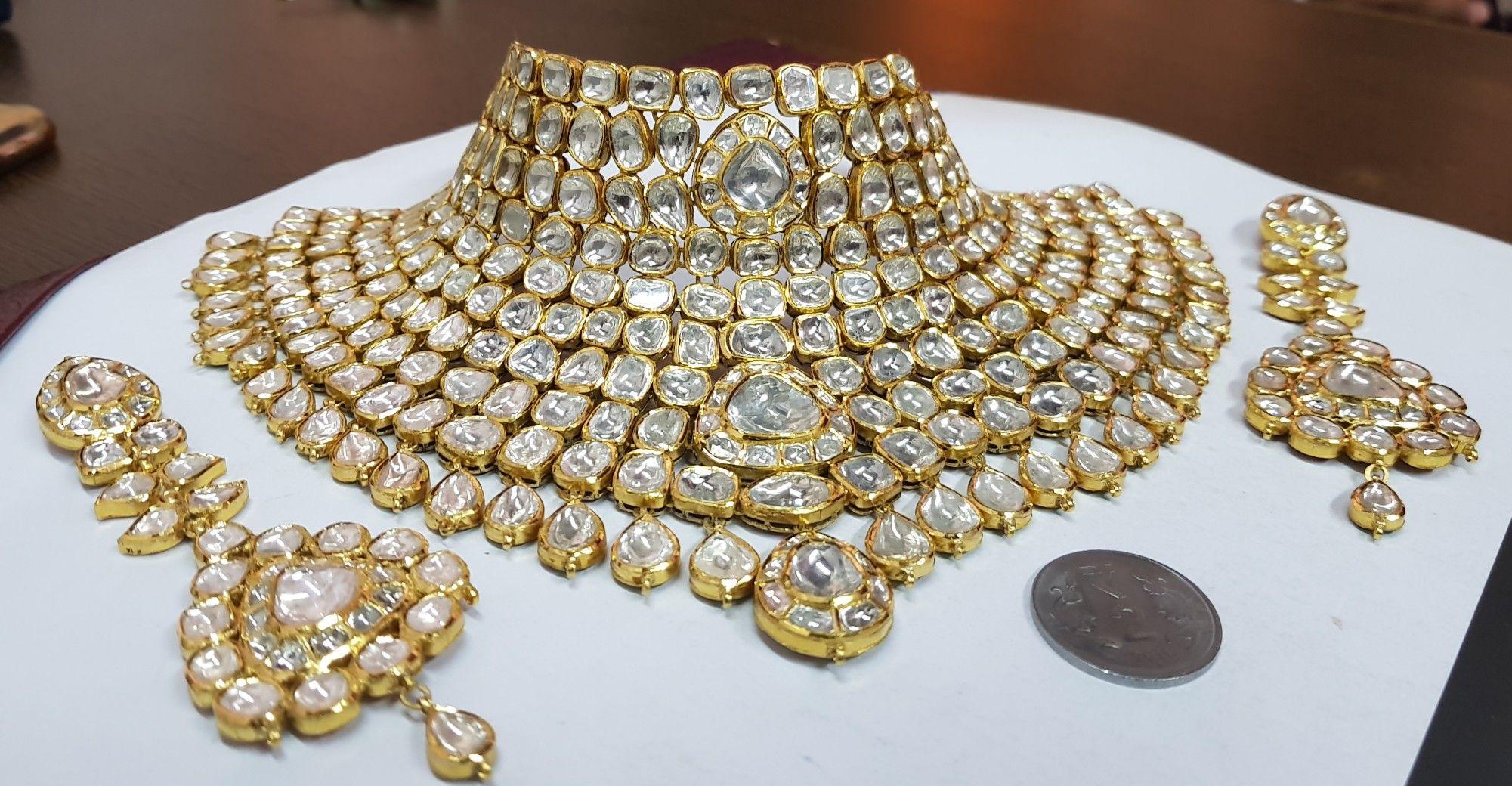 Pin by birbal soni on kundan set pinterest gems and jewel