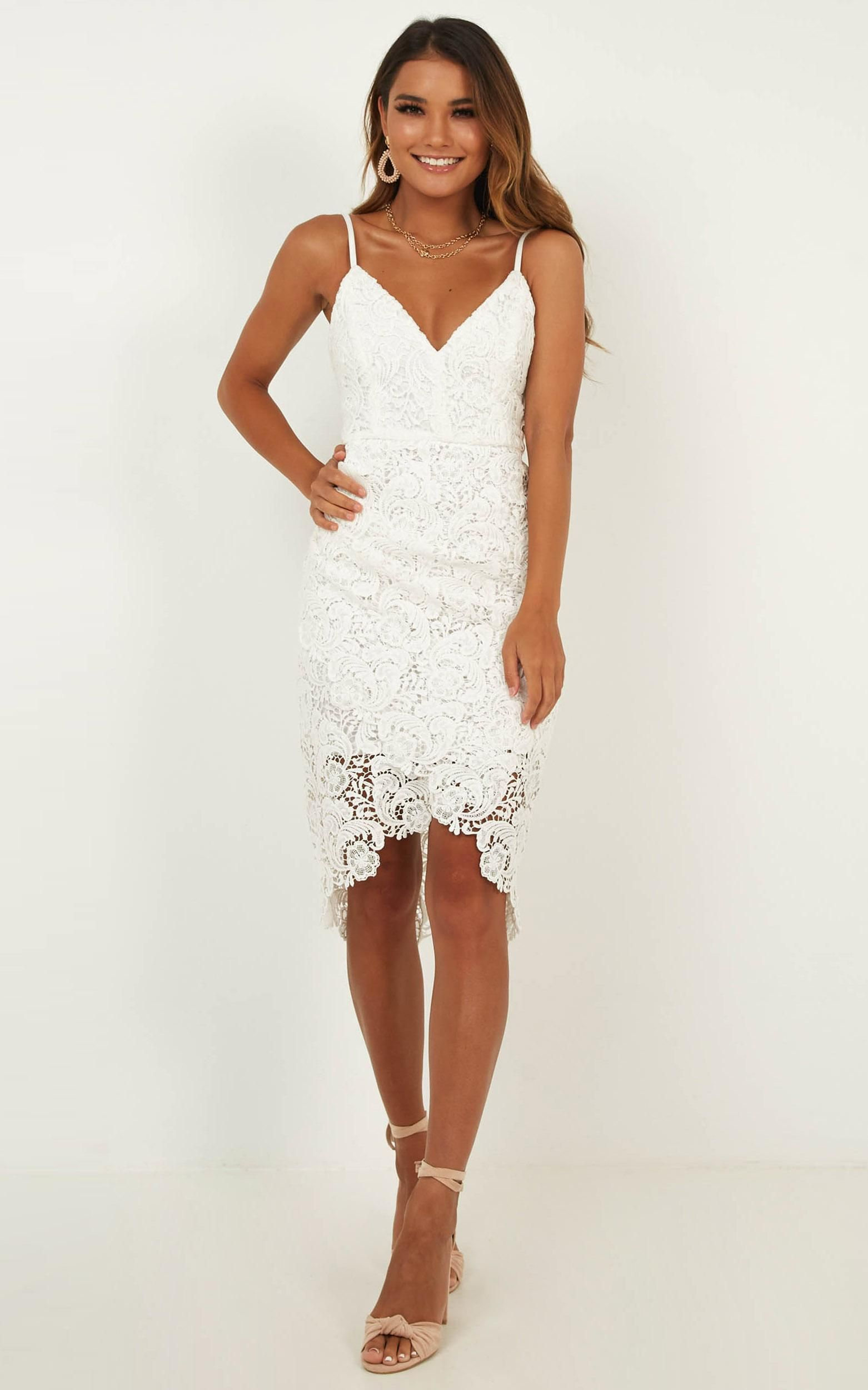 Typical Lover Dress In White Lace Showpo Lace White Dress Lover Dress Off White Lace Dress [ 2500 x 1562 Pixel ]