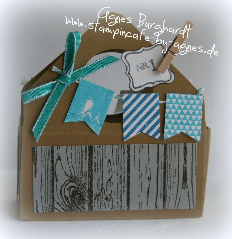 """Little Basket for """"Tools"""" (for boys) - Envelope Punch Board"""