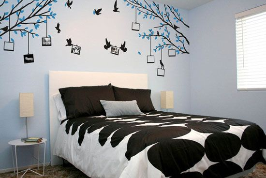 30 Beautiful Wall Art Ideas And Diy Wall Paintings For Your Inspiration Wall Decor Bedroom Simple Wall Paintings Wall Art Living Room