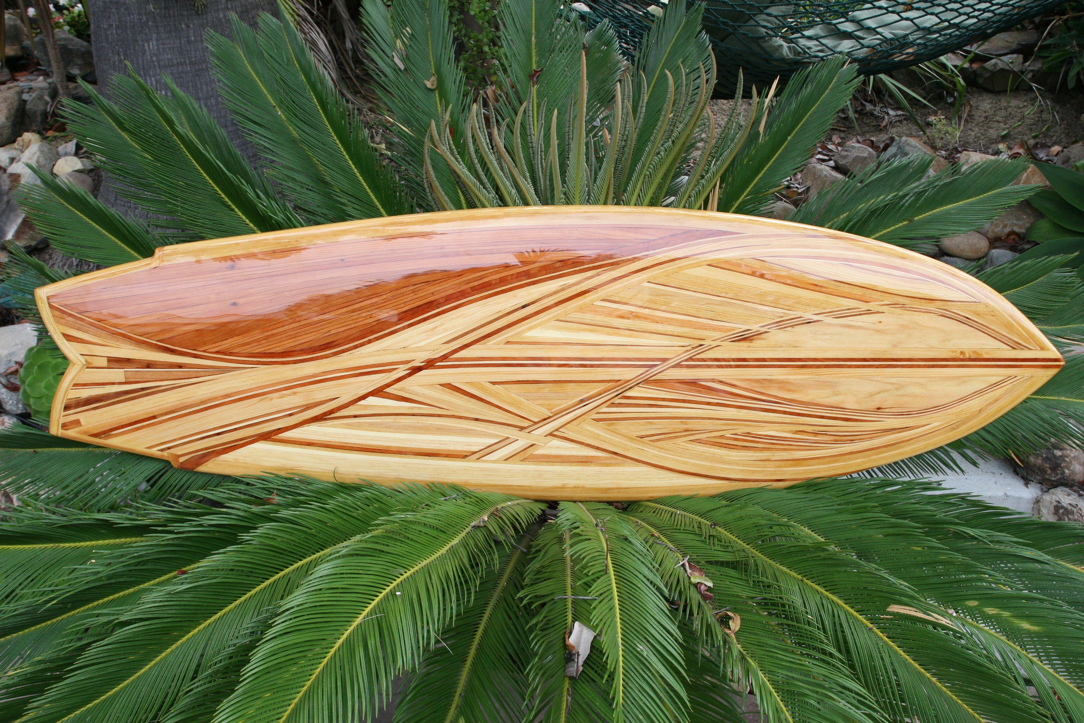 Wave Board - Hollow Wood Surfboard Fine Art - by Michael Rumsey ...