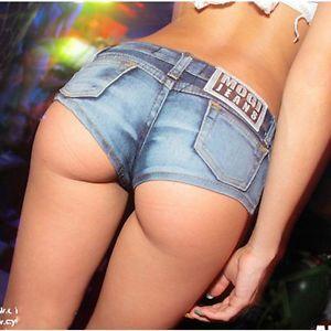 f1aa80790837 Sexy Women Mini Hot Pants Jeans Micro Shorts Denim Daisy Dukes Low Waist  Beach
