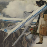 Collage Chien Aviateur, 1955, MIchael Hoppen Gallery, Finders Keepers    3 / 7