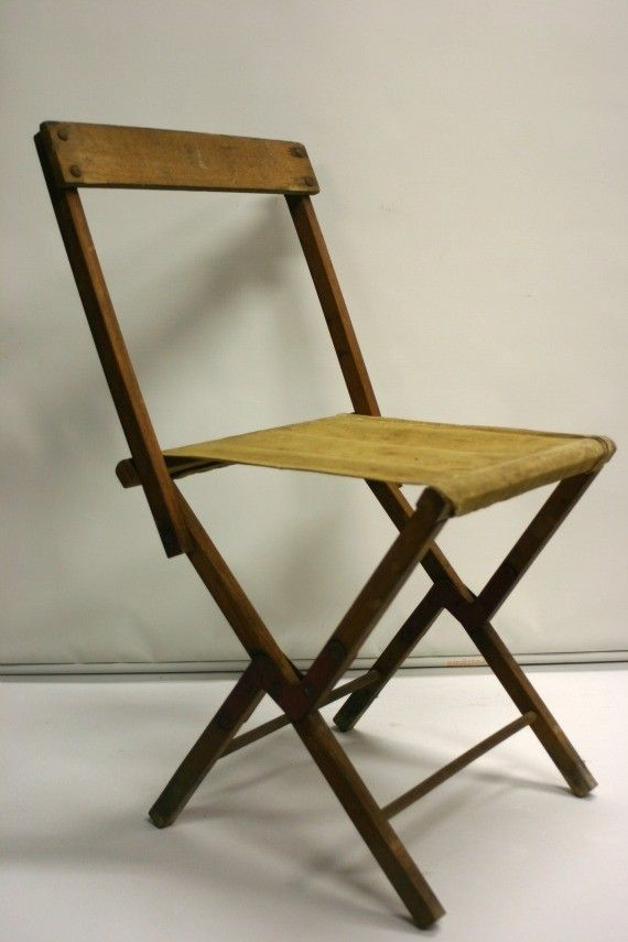 Vintage Camp Stool Folds To Camp Chair 31 00 Via Etsy