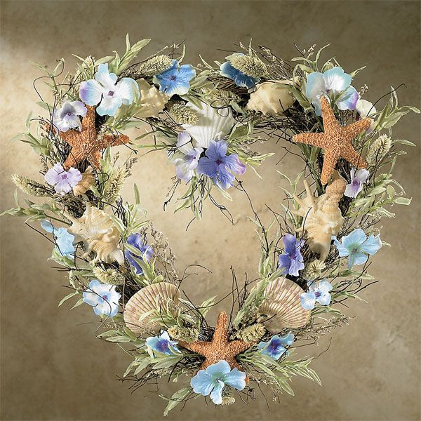 Do It Yourself Home Design: Love This Summer Time Sea Shell Wreath