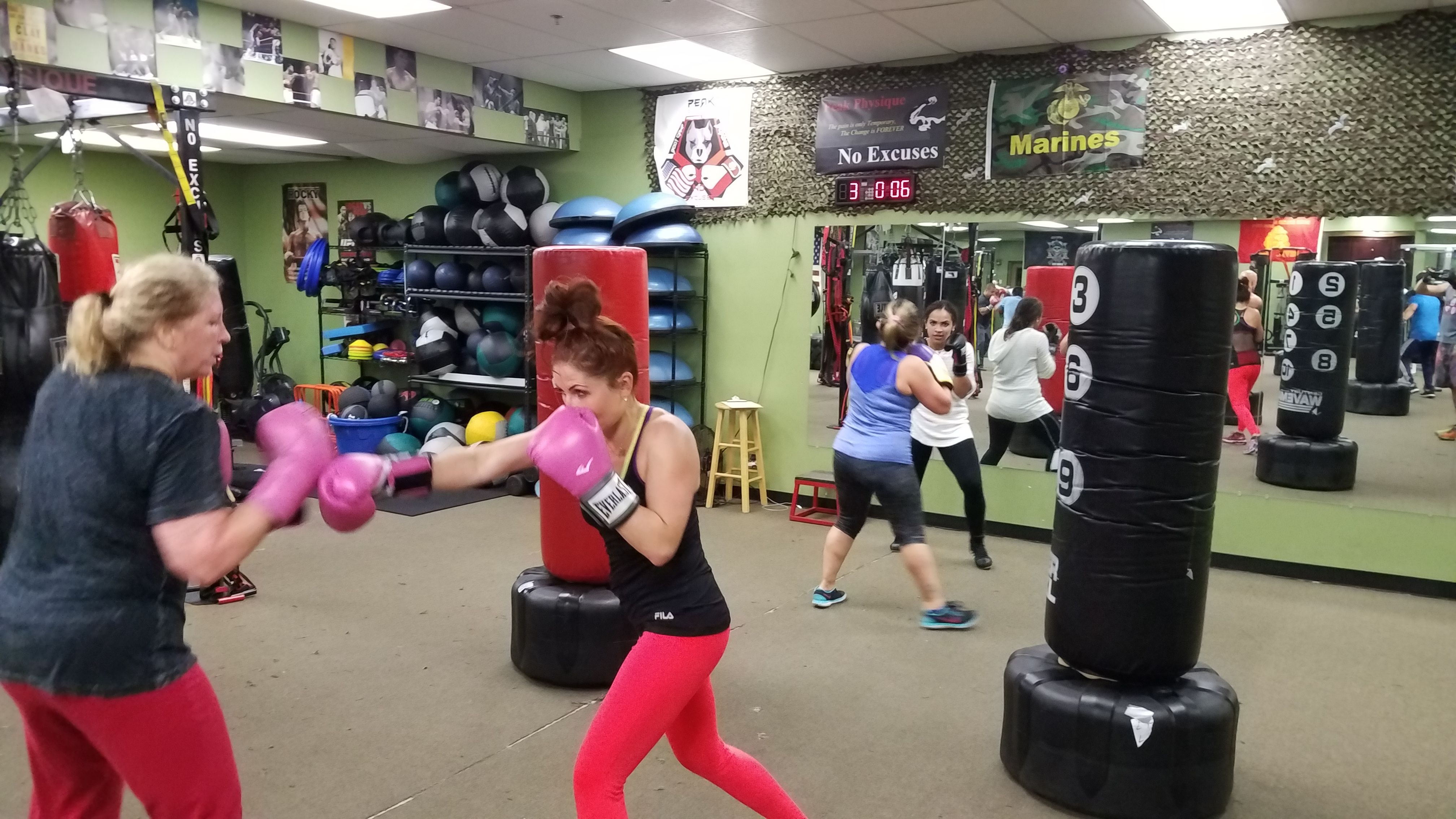Peak Physique Personal Training Boot Camp Boxing No Excuses Kickboxing Classes Personal Training Bootcamp