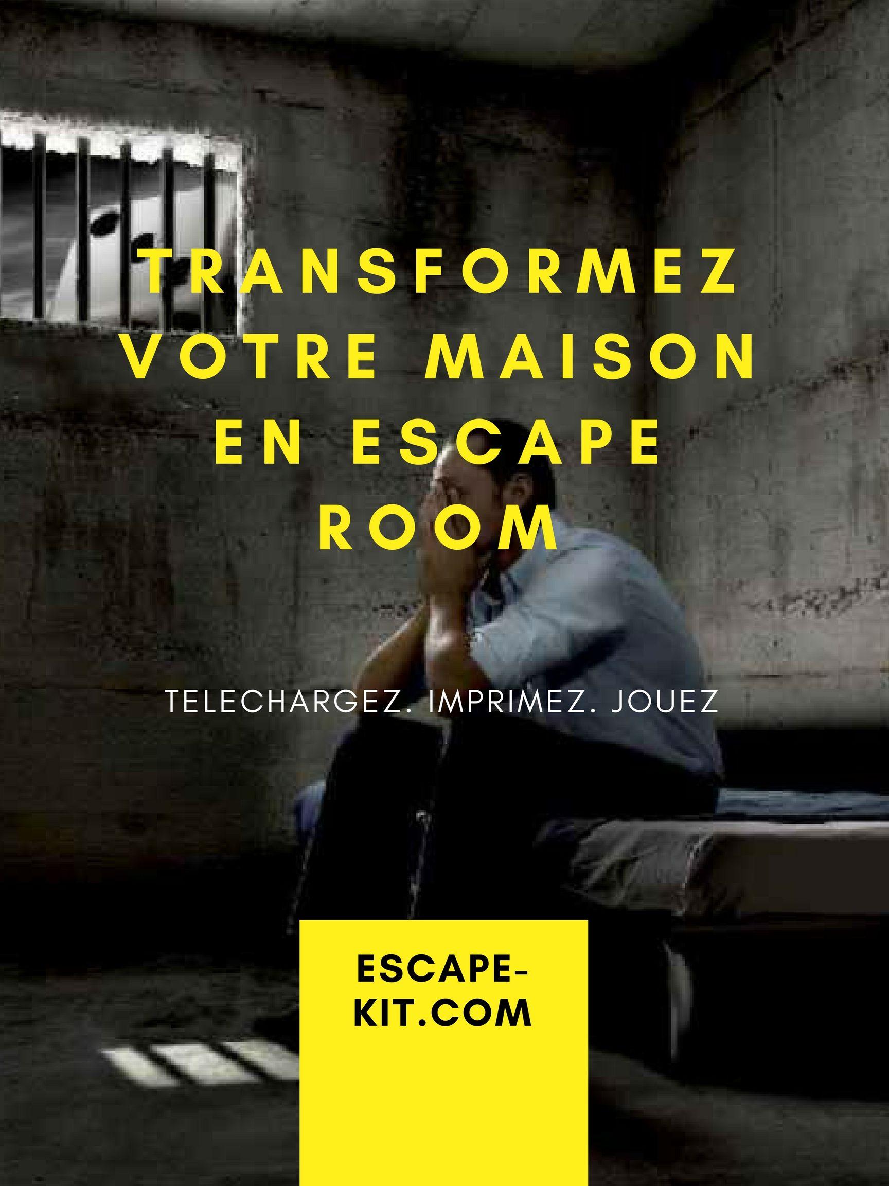 vous souhaitez organiser un escape game la maison pour un anniversaire ou evg evjf c 39 est. Black Bedroom Furniture Sets. Home Design Ideas