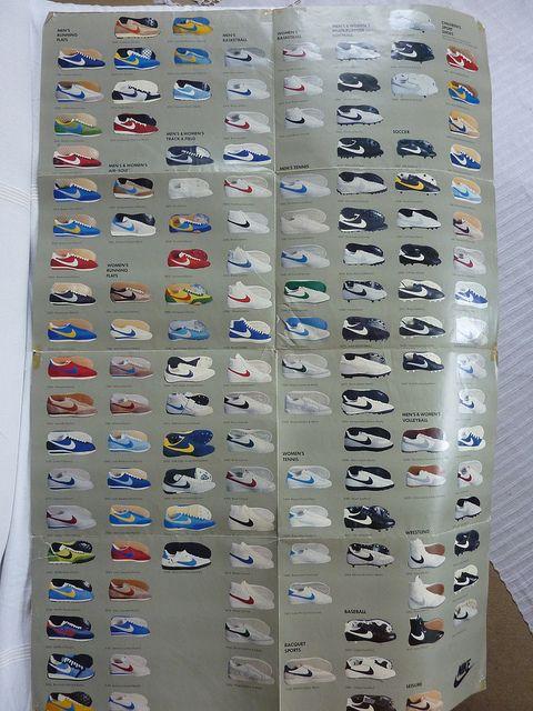 Nike 1980 Shoe Show Poster