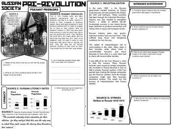 Russian Revolution Dbq History World History World History