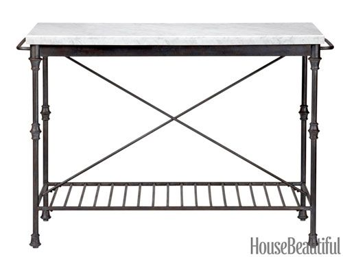 Prep Table Station Food Cart Stainless Steel Marble Top Kitchen Island Storage Orleans Kitchen Island Marble Top Kitchen Island Kitchen Island Storage