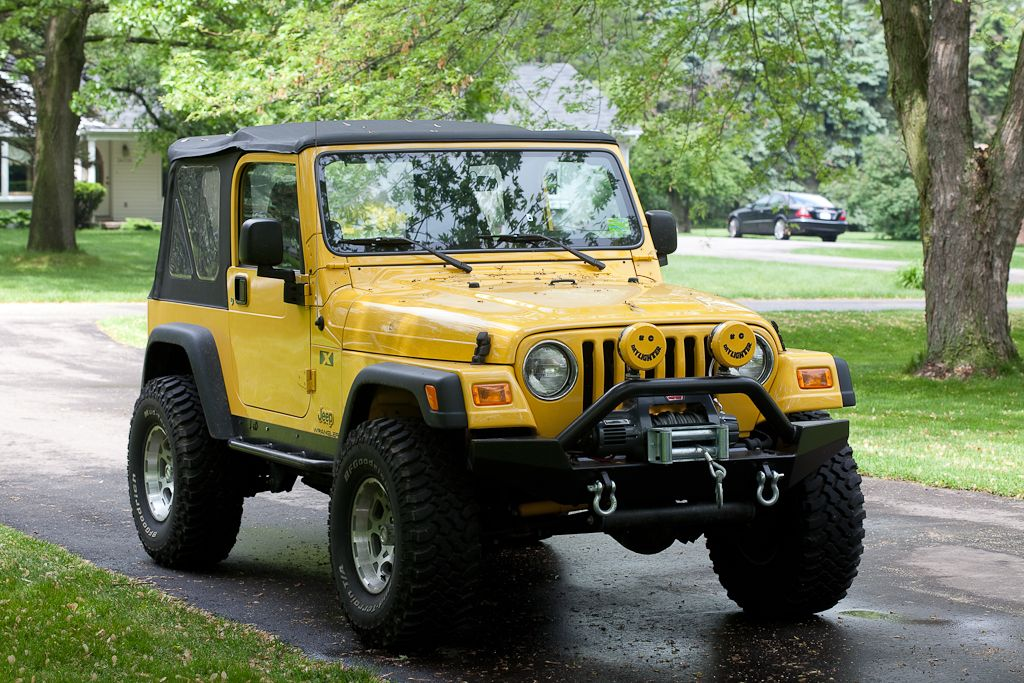 Have A Yellow Jeep Wrangler Join The Club On Facebook Yellow Jeep Club Yellow Jeep Wrangler Yellow Jeep Jeep Tj