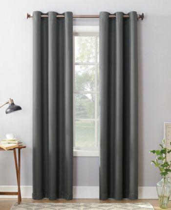 Montego Lichtenberg No 918 Casual Grommet Curtain 48 X 84 Panel Curtains Panel Curtains Grommet Curtains
