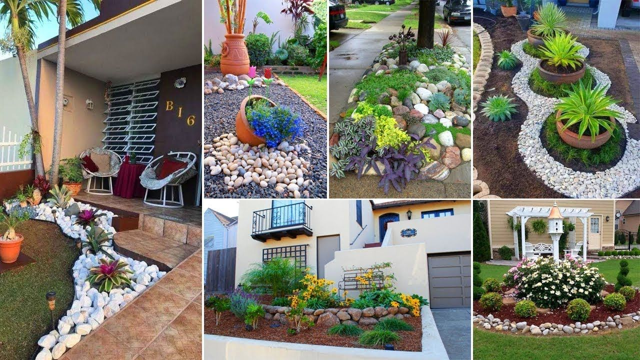 30+ Beautifil Rock landscaping ideas for front yard  Garden Ideas