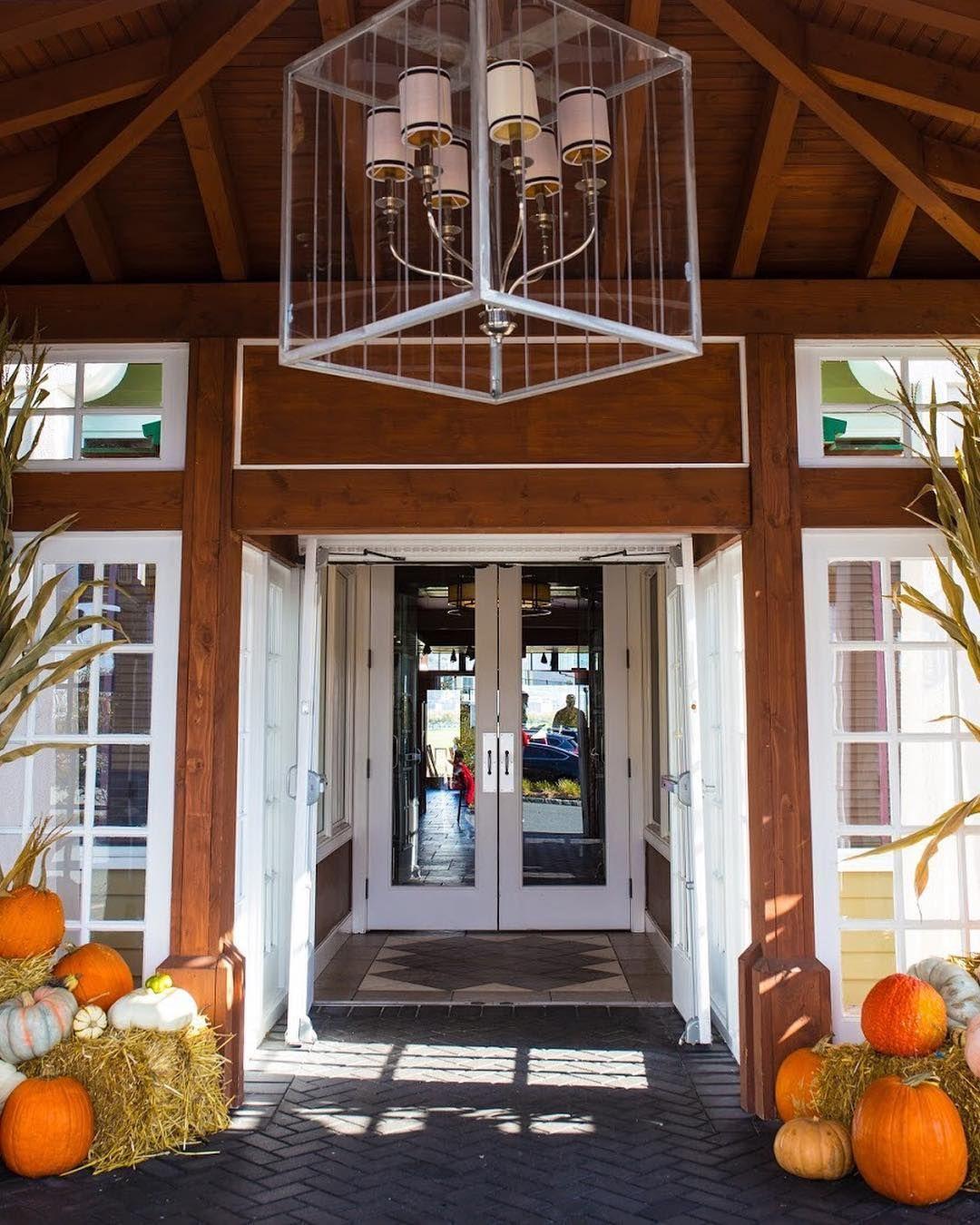 Fall morning vibes. libertyhouserestaurant pumpkin