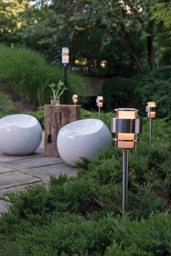Saturn Path Light In 2020 Modern Landscape Lighting Landscape Lighting Design Smart Outdoor Lighting