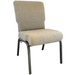 Advantage Mixed Tan Church Chair 20 5 In Wide Pcht 105 Chair