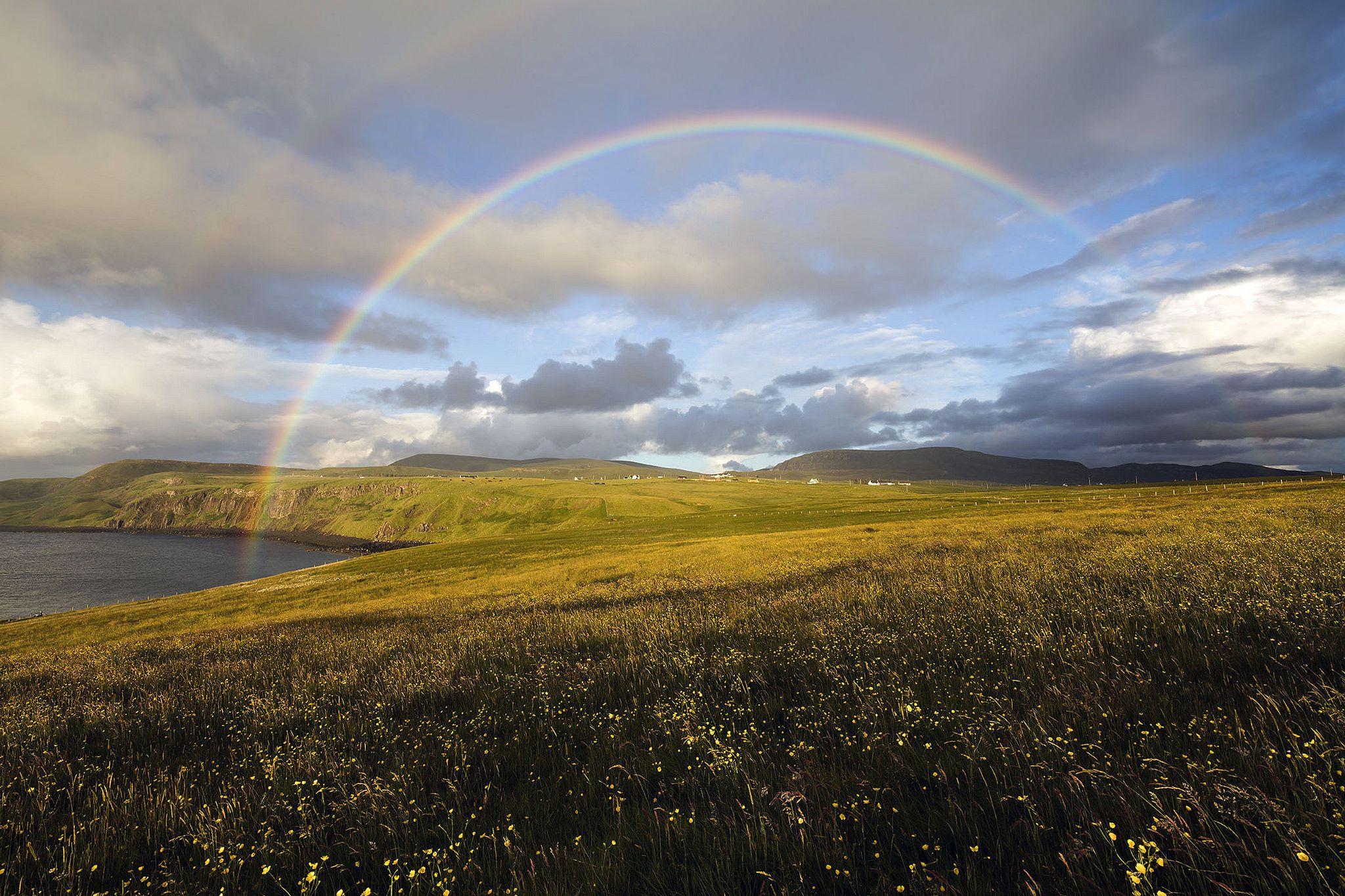 https://flic.kr/p/K34gC6 | Rainbow over Skye