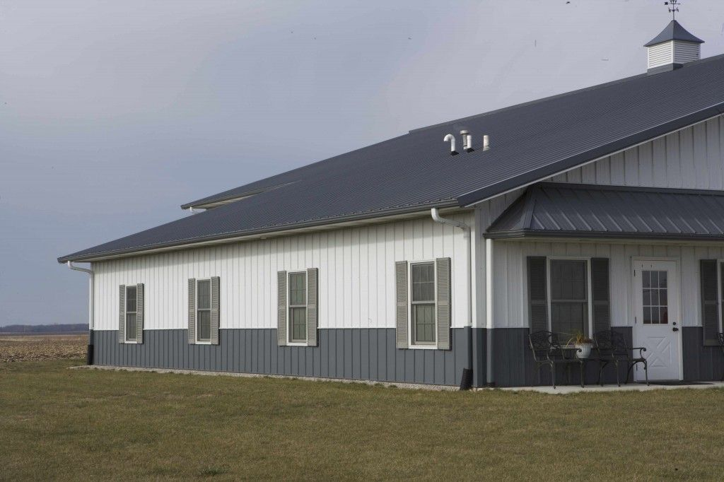 Metal Buildings With Living Quarters | Laryu0027s Farm Shop With Living Quarters