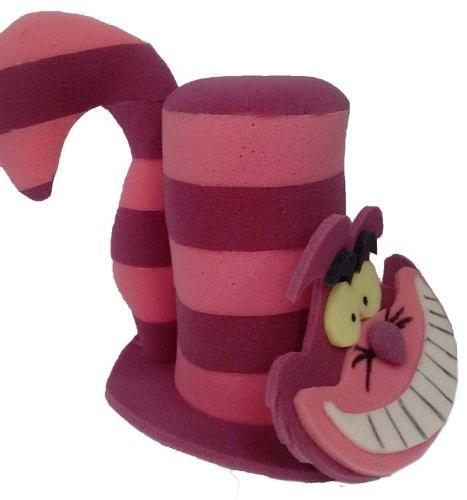 sombreros alicia en el país de las maravillas hule espuma me ... 196f3f19ffb