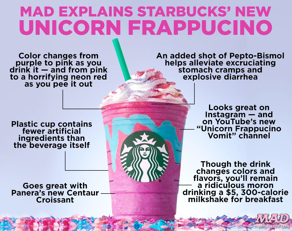 I hope i can drink this unicorns unicorn blue pink