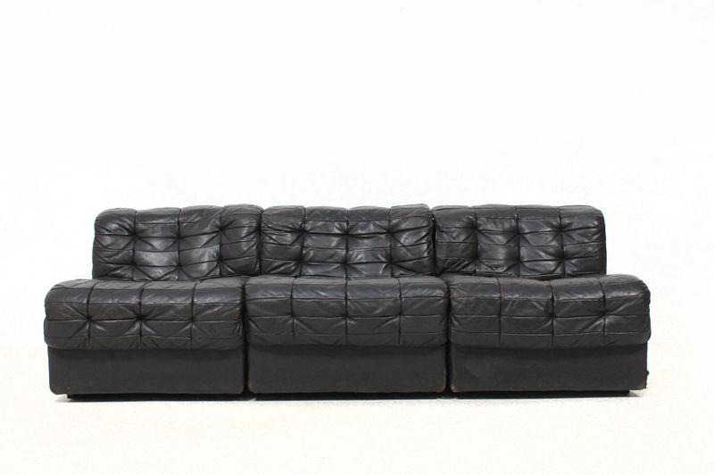 70er De Sede DS 11 Vintage Modular Sofa (avec images