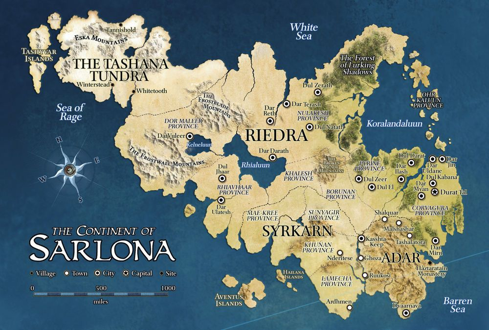 The Continent Of Sarlona On The World Of Eberron D D Wizards Of