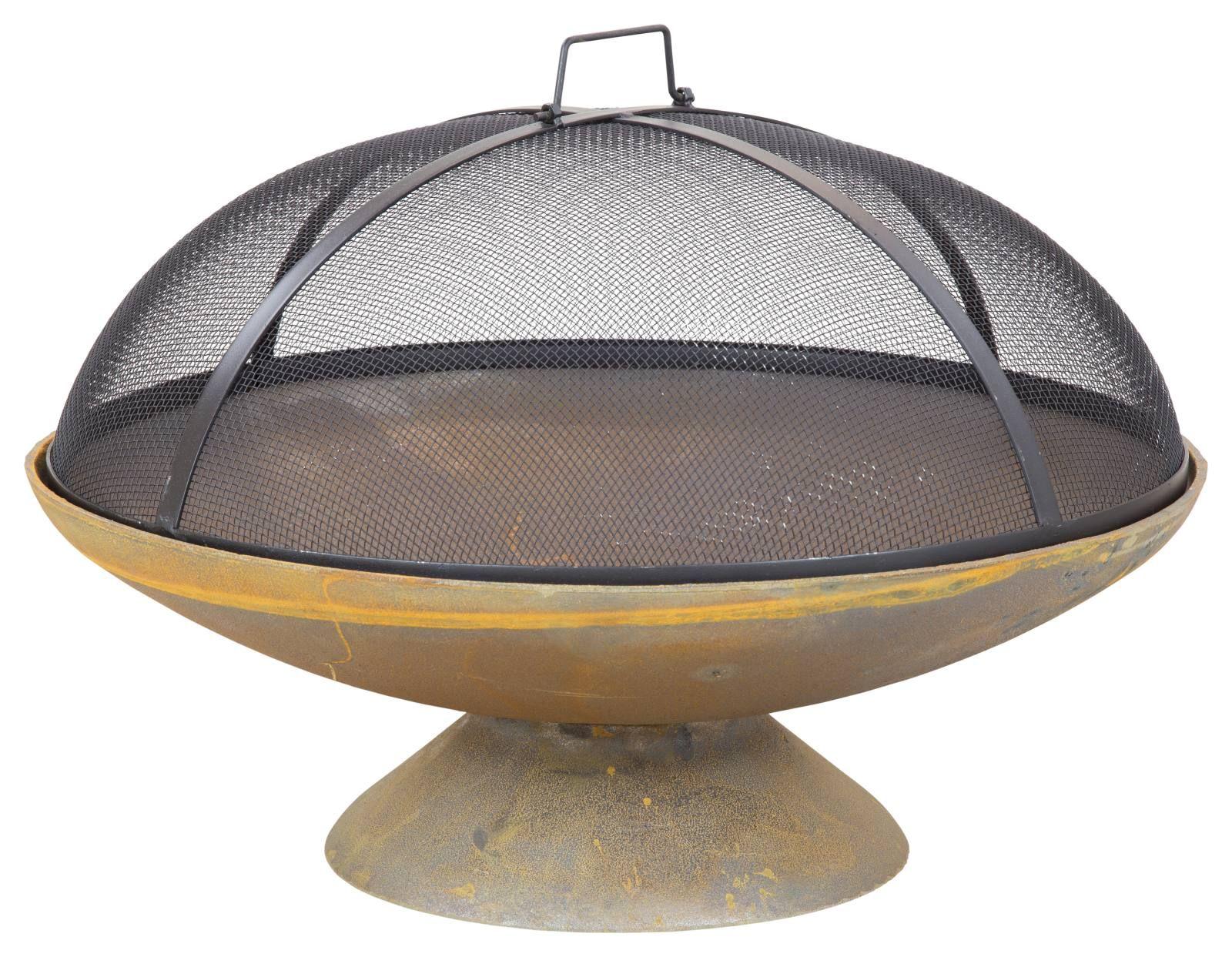 Atlas 60cm Cast Iron Fire Pit | Cast iron fire pit, Iron ...