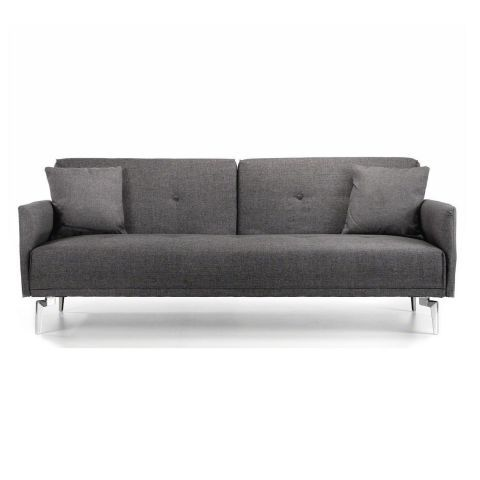 dalton sofa bed upholstery fabric manufacturers india sofabed in grey casafina home decorating pinterest