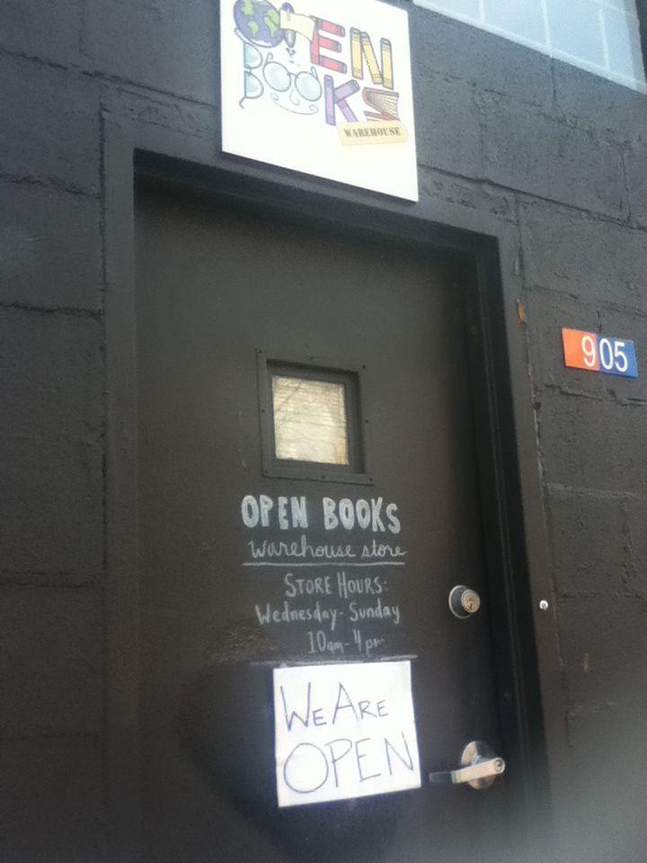Open Books Pilsen- Chicago, IL | Analog | Books, Open book