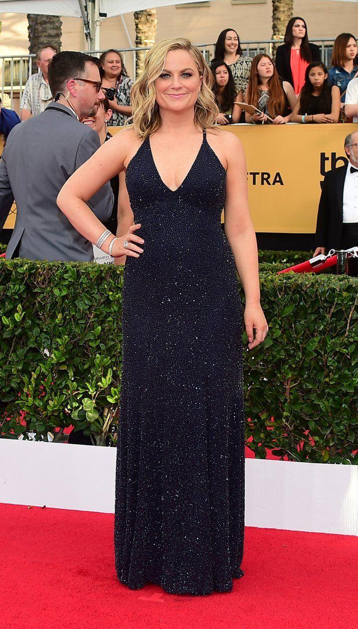 Pin for Later: Wir nehmen euch mit auf den roten Teppich der SAG Awards! Amy Poehler