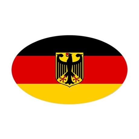 Flag German Coat Of Arms Sticker Oval By 13 Tactical Cafepress Coat Of Arms German Germany Gifts