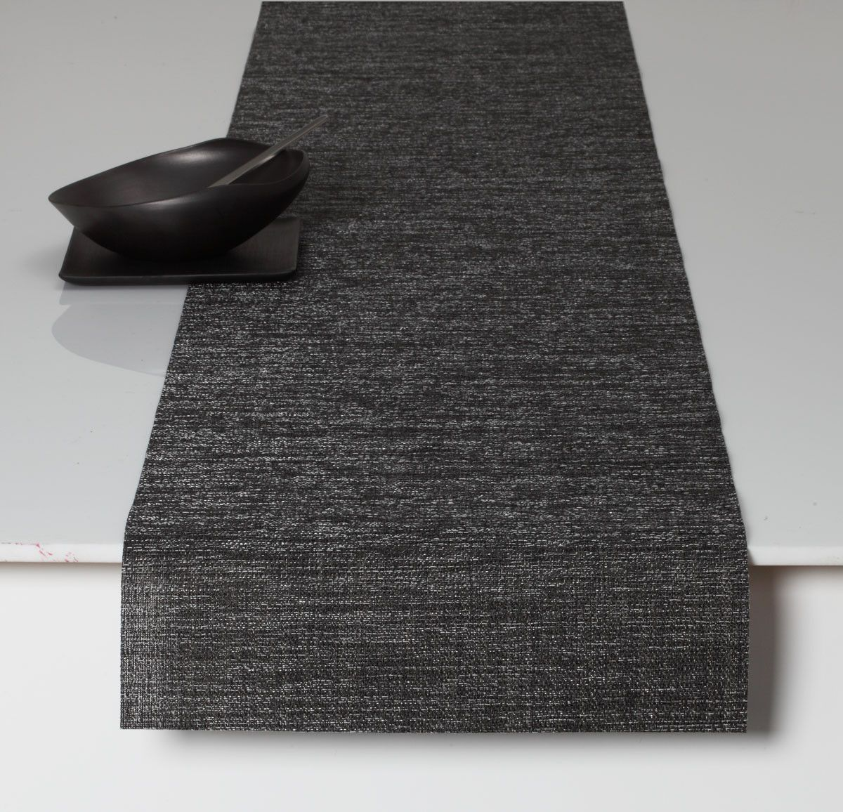 Chilewich Boucle Table Runner 14x72 GREY