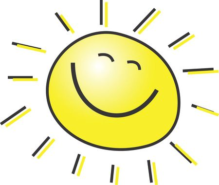 Image result for sun smiling