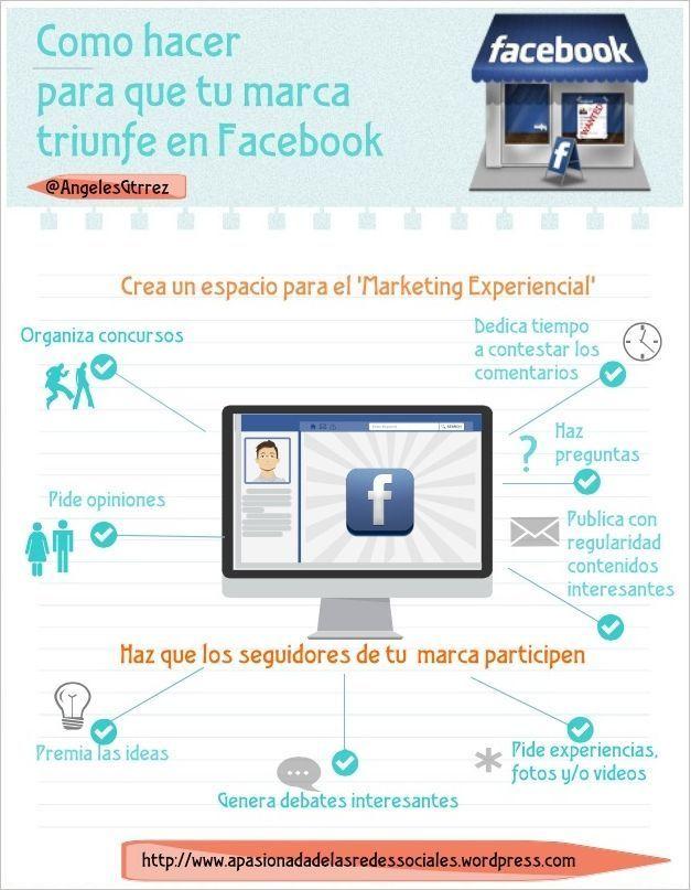 Cómo hacer triunfar tu marca en Facebook
