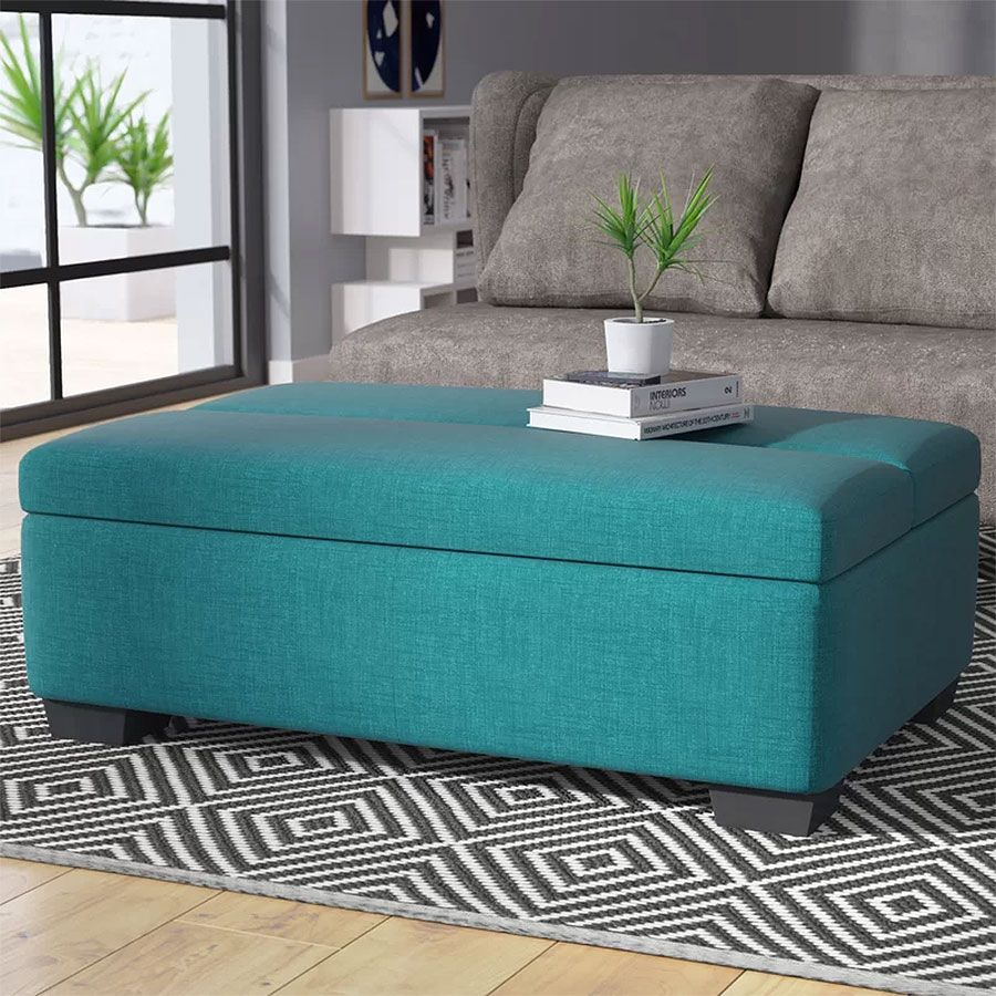 Best Multipurpose Furniture For Small Spaces Sleeper Ottoman 400 x 300