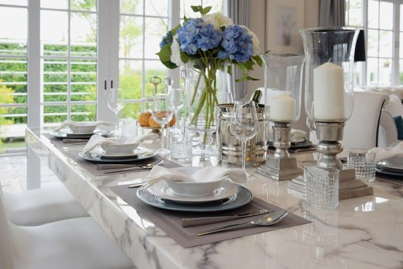 27 Modern Dining Table Setting Ideas | Table Dressing, Dining And Room Ideas