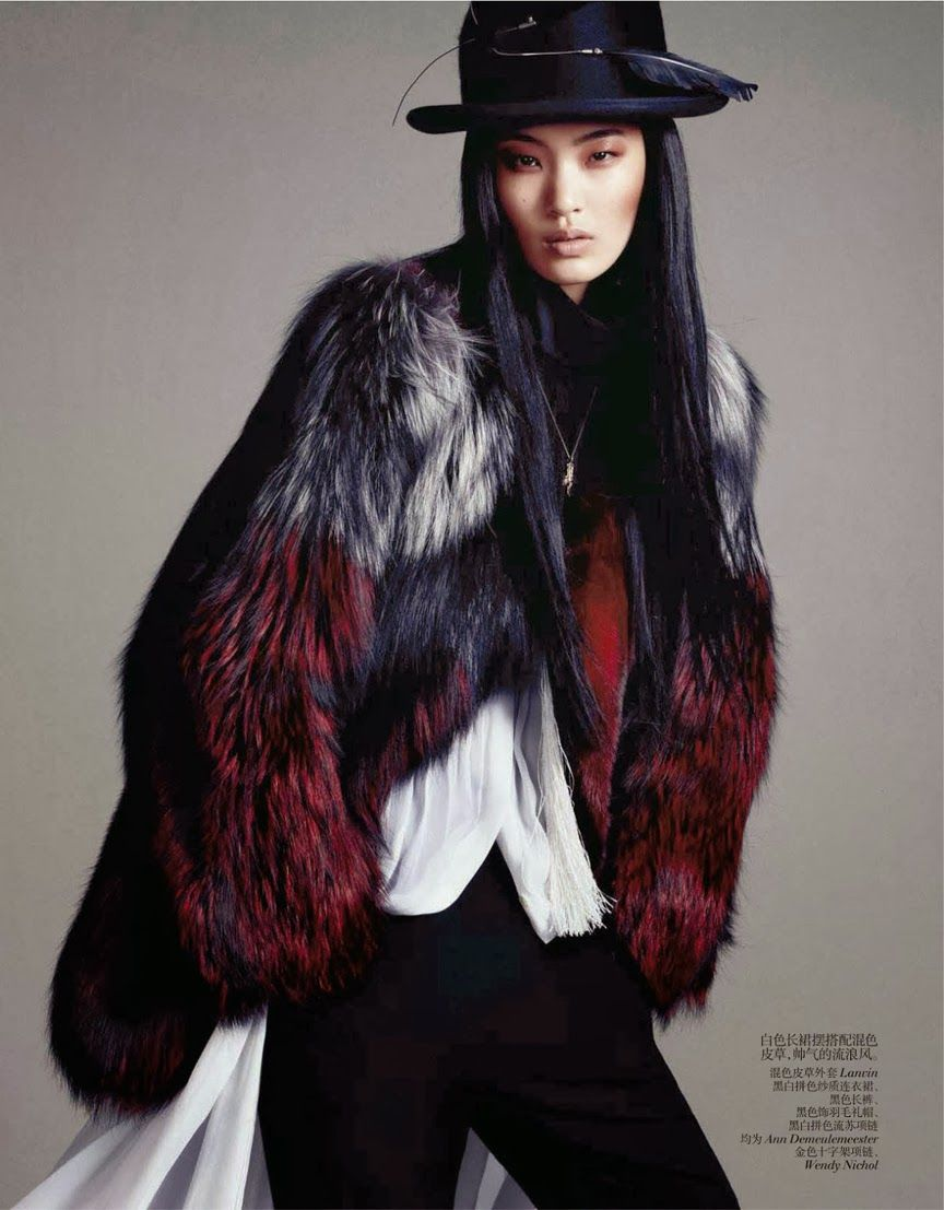 VOGUE CHINA, OCTOBER 2013 photography: daniel jackson ∆ model: chiharu okunugi