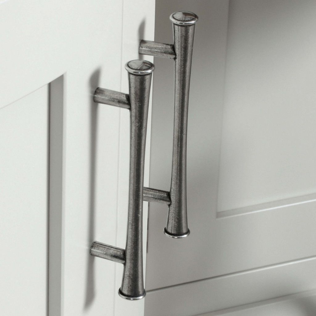 The Harrington Real Pewter Cabinet Pull Available In 2 Sizes