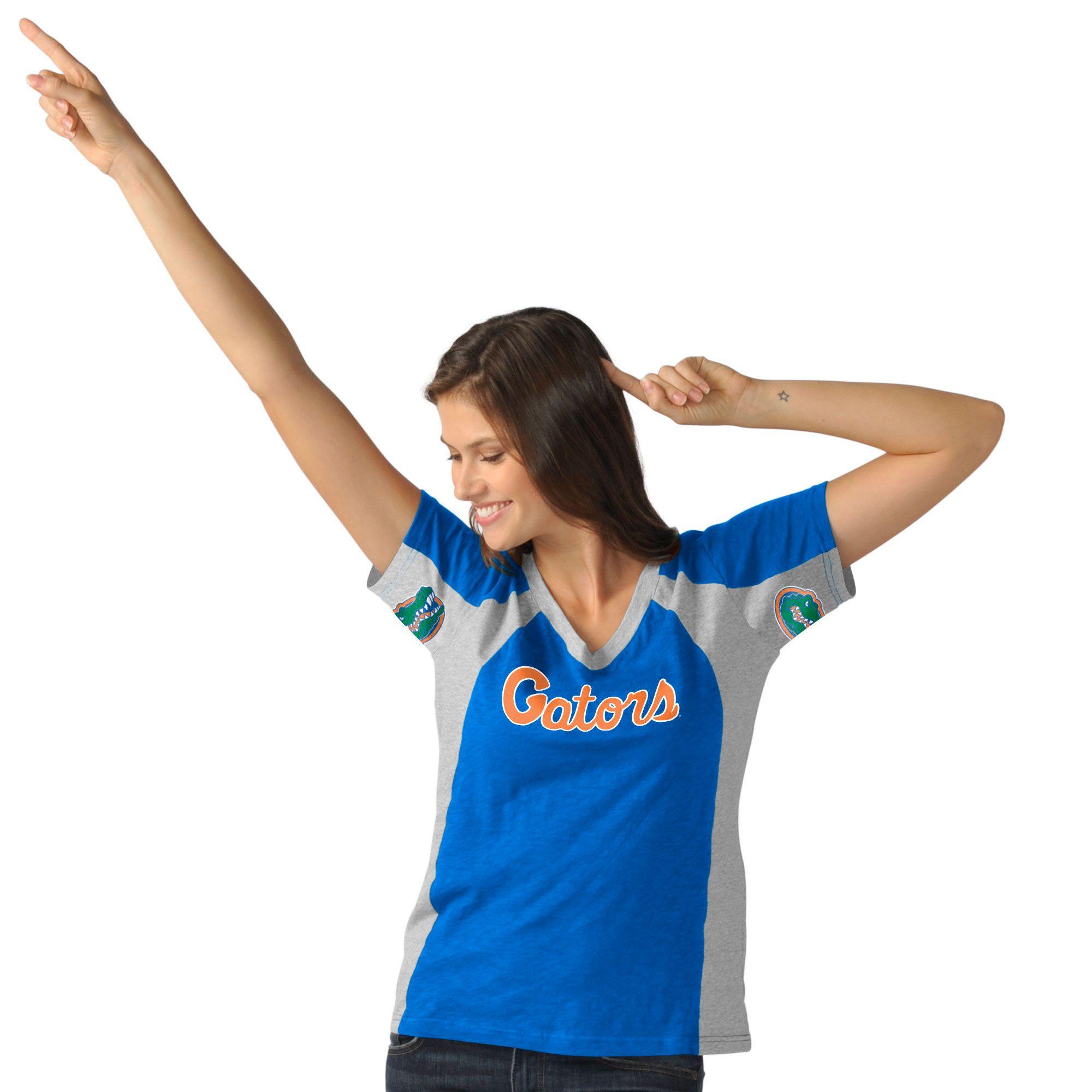 College Florida Gators Hands High Women's Sideline TShirt