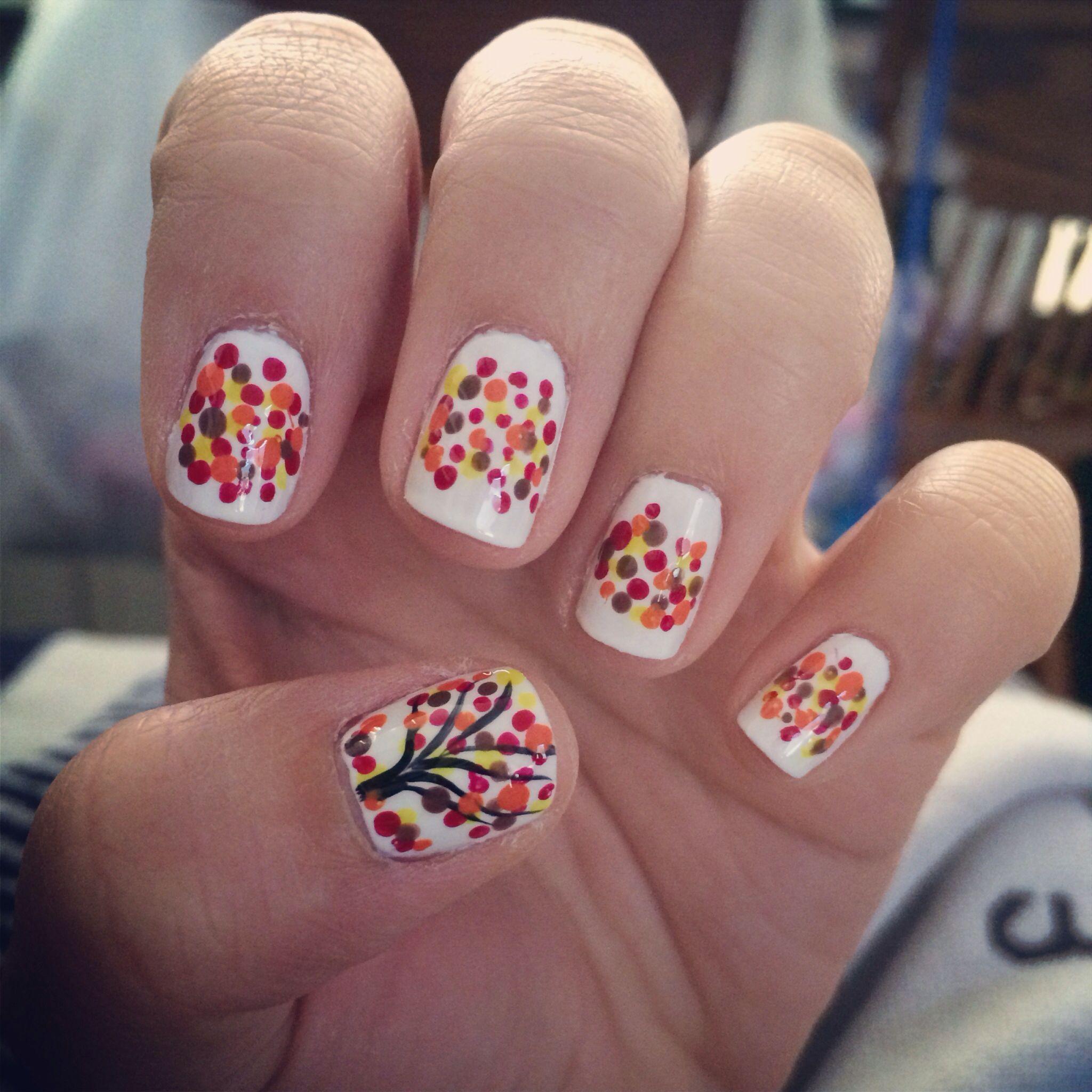Fall themed nails! #autumn #naildesigns #nailart   Nails   Pinterest ...