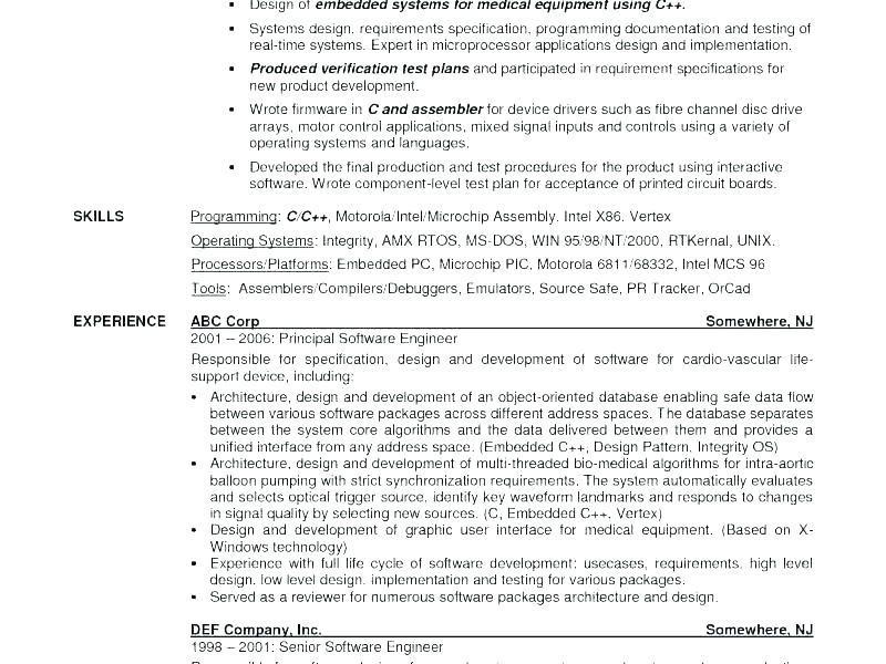 Experienced Engineer Resume Software Experienced Software Engineer Resume Samples Click More Phot Resume Examples Resume Software Mechanical Engineer Resume